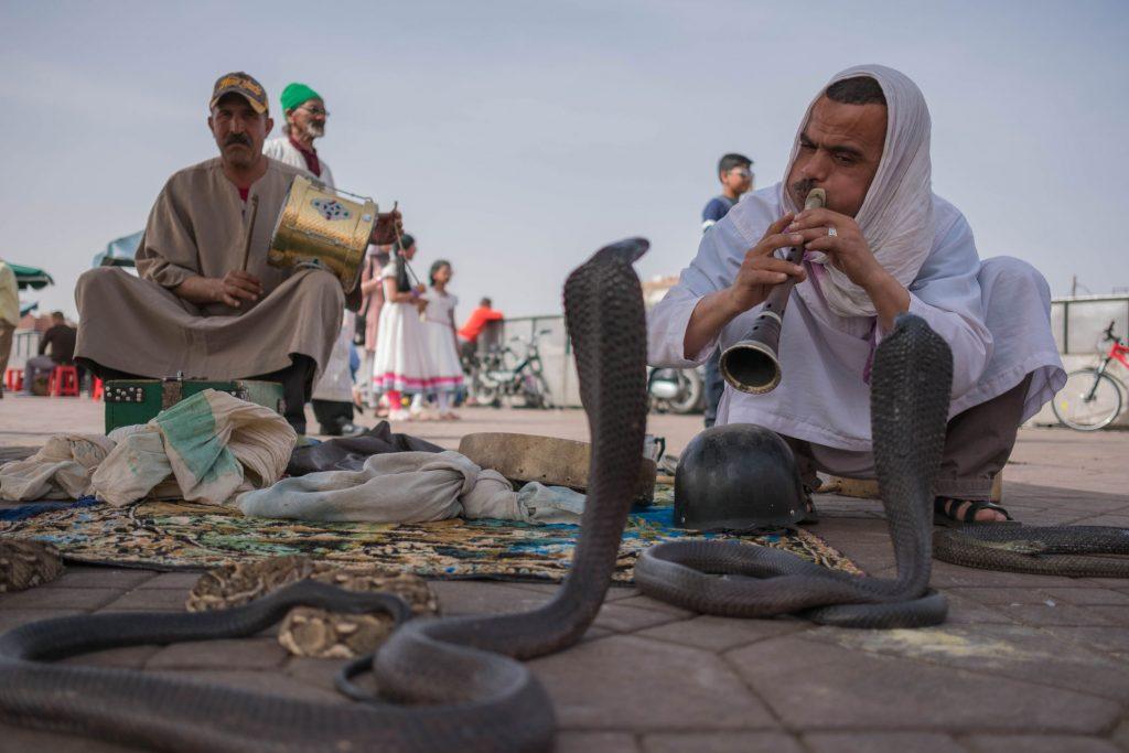 1. Que faire à Marrakech - Visiter la place Jemaa El Fna