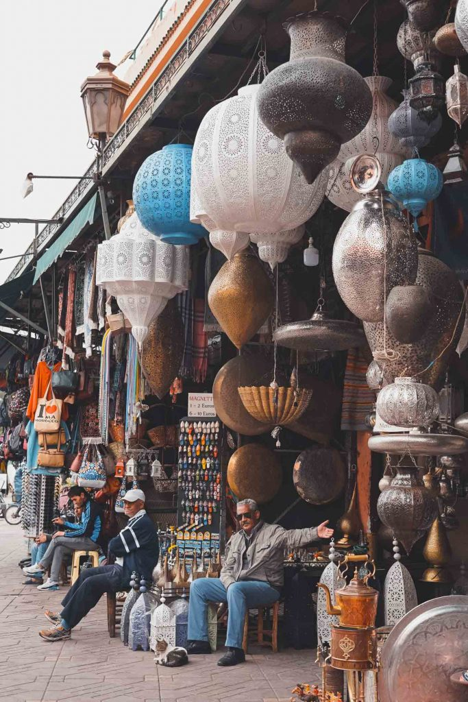 2. Que faire à Marrakech - Faire du shopping au souk de la Medina