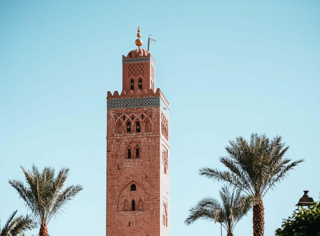 4. Que faire à Marrakech -Découvrir la mosquée Koutoubia