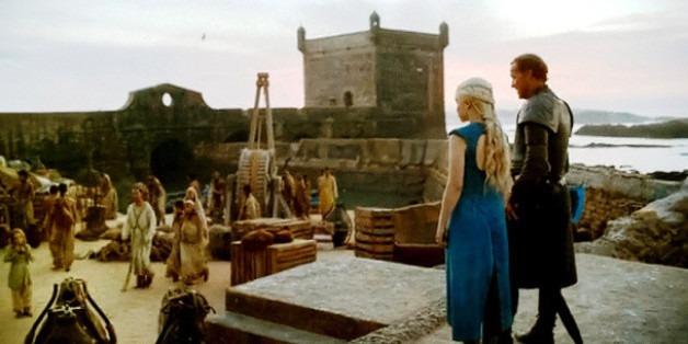 Essaouira Maroc - Le port de pêche Skala Game of Thrones