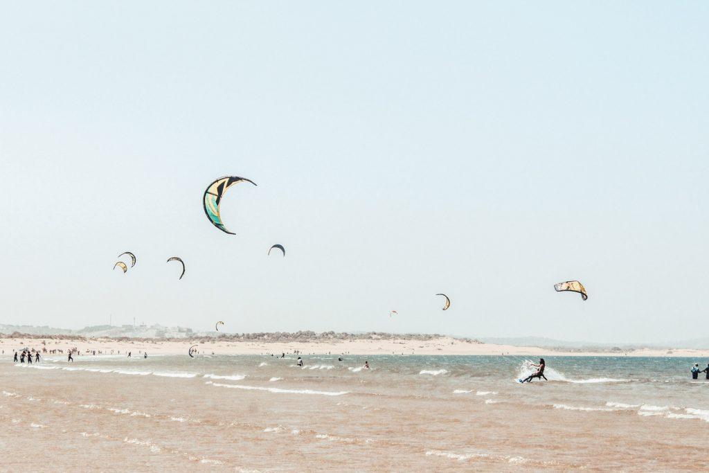 Essaouira Maroc - Plage surf