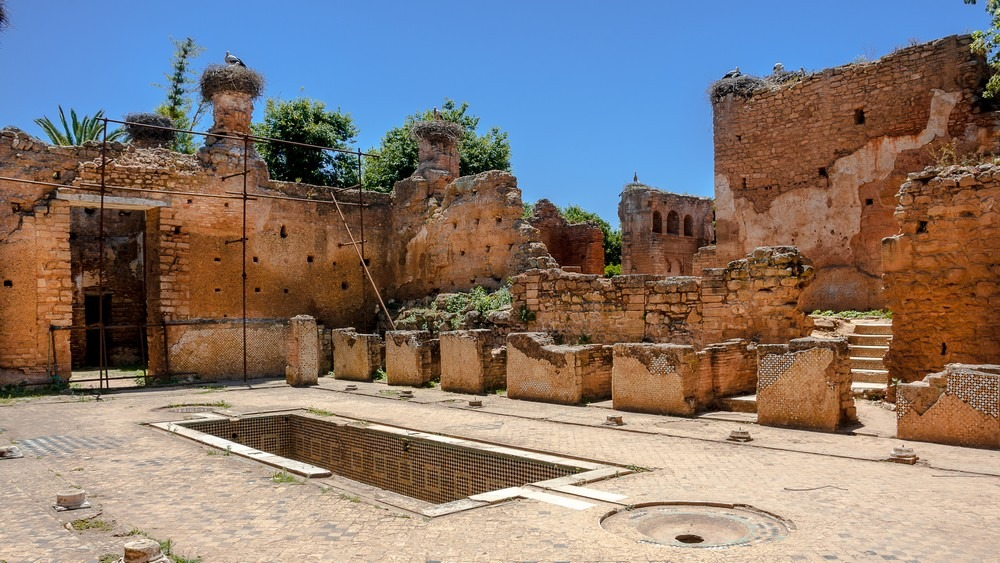 Rabat Maroc - La Nécropole de Chellah 1
